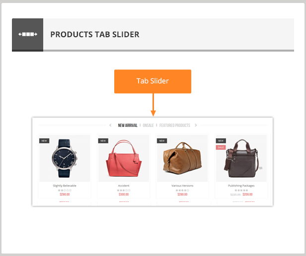 Accessories - Responsive Prestashop Theme