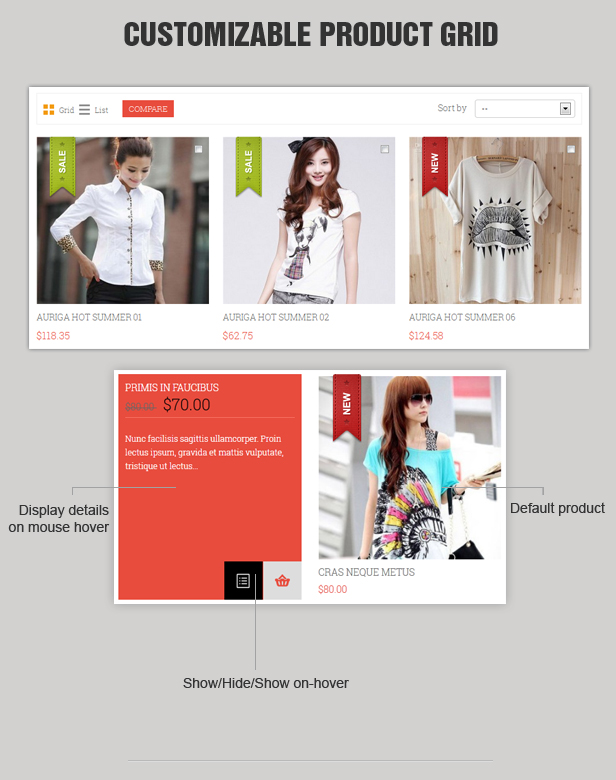 Pos Auriga - Fashion Responsive Prestashop Theme