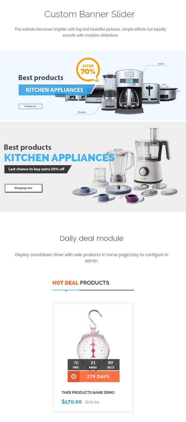 Betashop - Kitchen Appliances Prestashop Theme