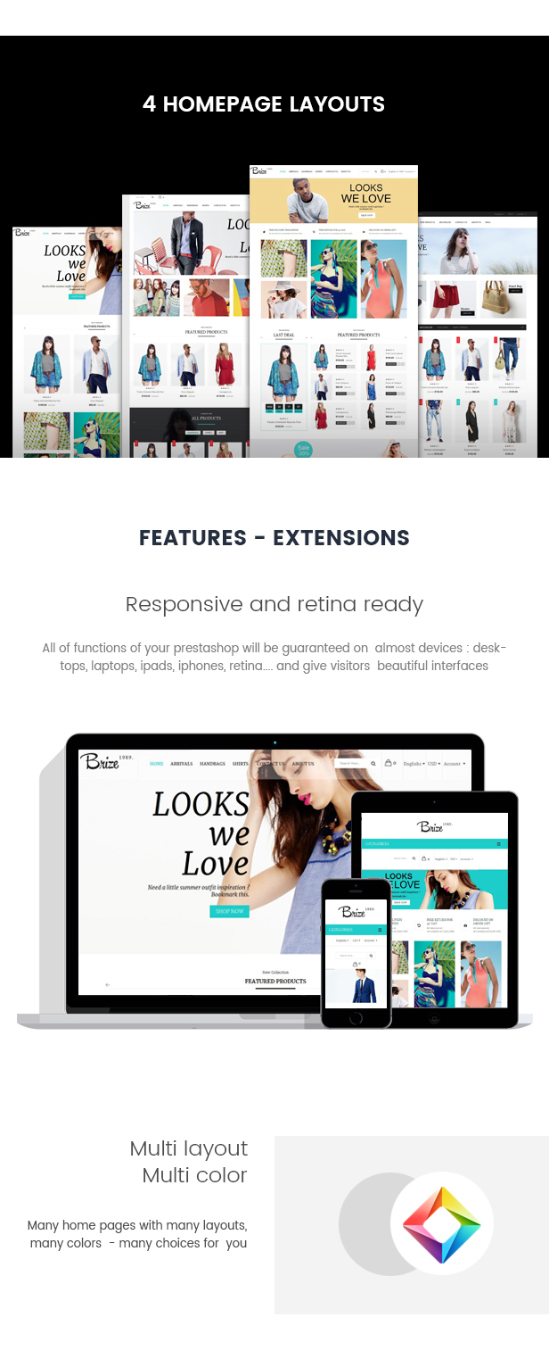 Brize - Responsive Prestashop Fashion Theme