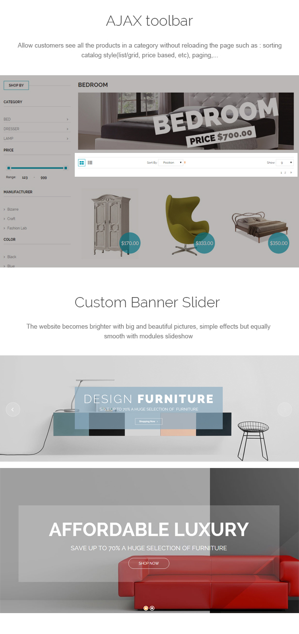 Cendo - Responsive Prestashop Furniture Theme