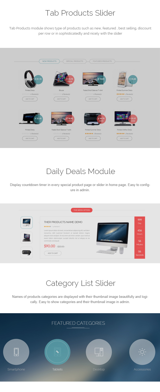 Flaton - Responsive Prestashop Digital Theme