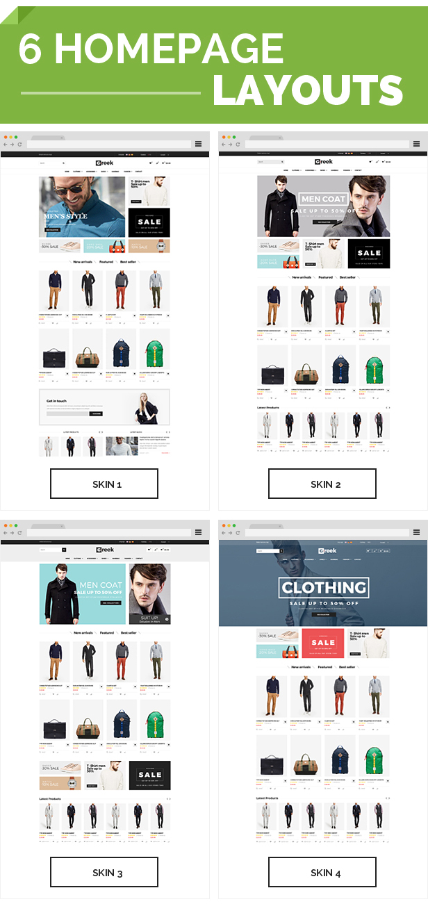 Greek - Responsive Prestashop Theme