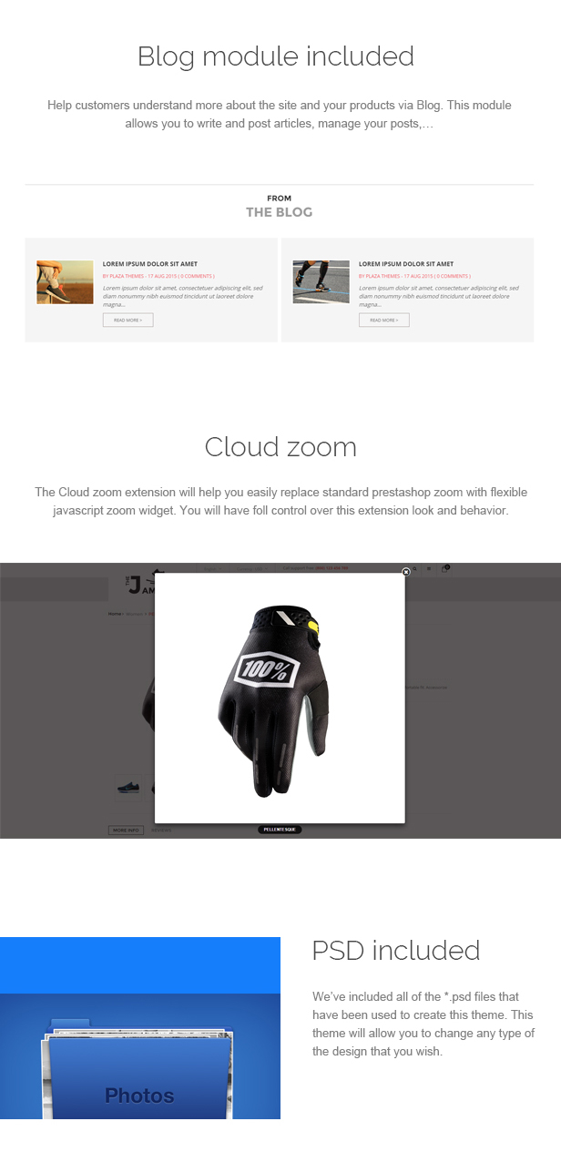 James - Responsive Prestashop Shoes Store Theme
