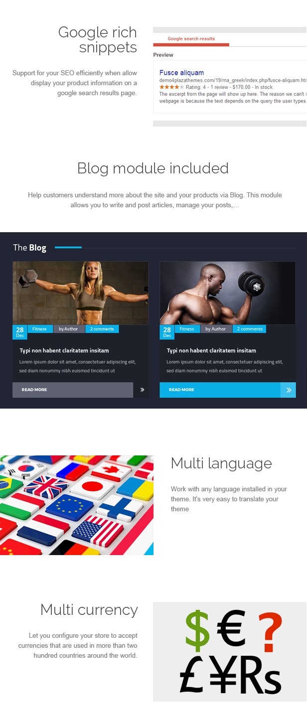 Kinggym - Fitness, Gym and Sport Prestashop Theme
