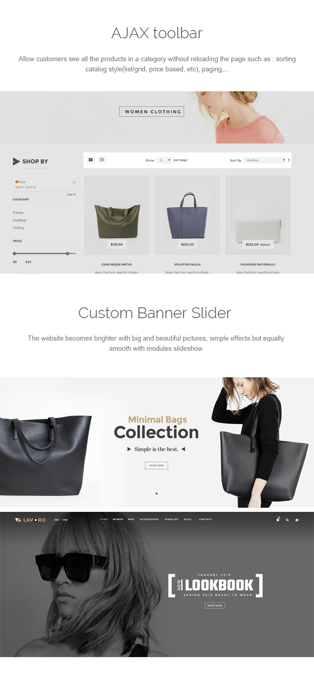 Lavoro - Fashion Shop Responsive Prestashop Theme
