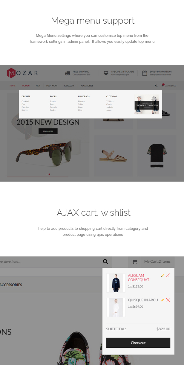Mozar - Responsive Prestashop Clothing Theme