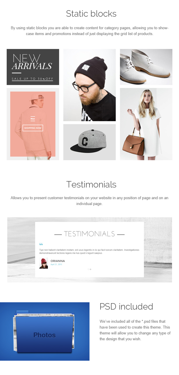 Orianna - Prestashop Theme Multi Purpose
