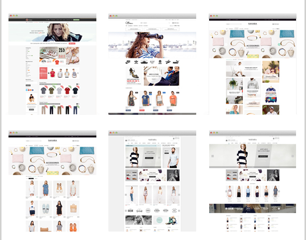 SAHARA - Ultimate Responsive Prestashop Theme