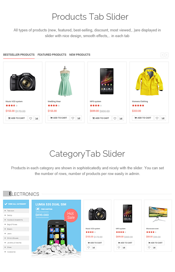 SOZO - Fluid Full Screen Prestashop Theme