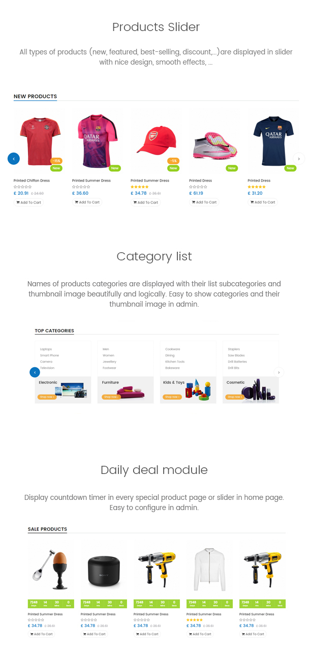 Stepre - Multipurpose Responsive Prestashop Theme
