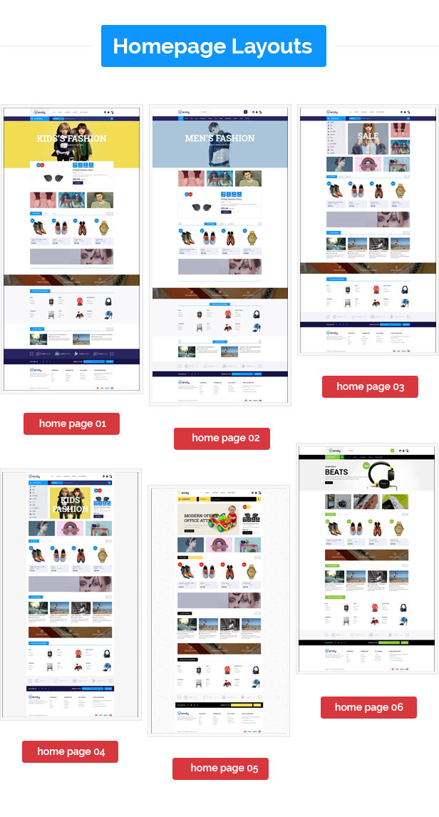 Wendy - Multipurpose Responsive Prestashop Theme