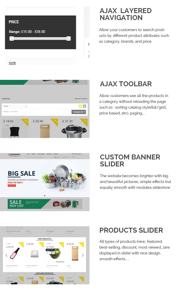 X98 - Kitchenware Responsive Prestashop Theme