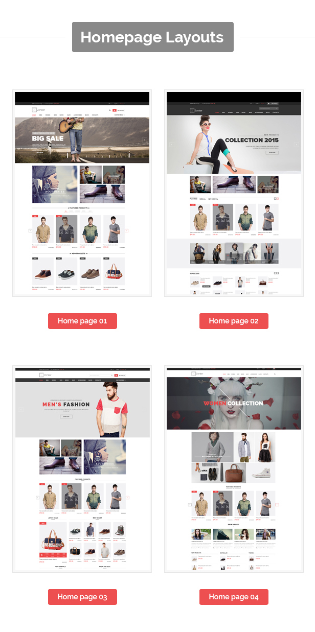 Zonker - Responsive Prestashop Fashion Theme